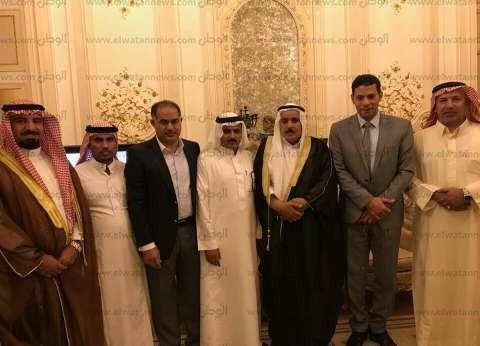 بدو جنوب سيناء يستعرضون بعض المشكلات مع وكيل مجلس النواب
