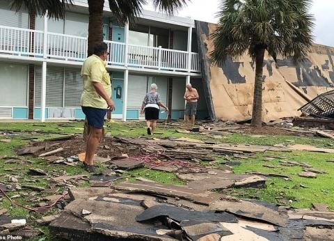 تداعيات خطيرة.. إعصار دوريان يضرب جزيرة هاترس الأمريكية