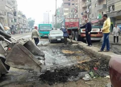 إزالة 42 حالة إشغال طريق في الإسكندرية