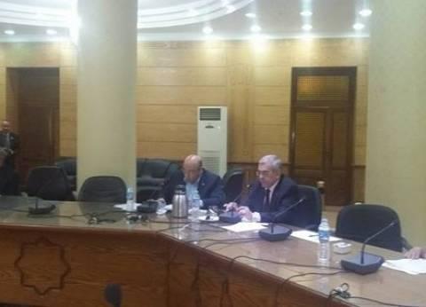 تقرير يومي عن الإنشاءات أمام رئيس جامعة بنها