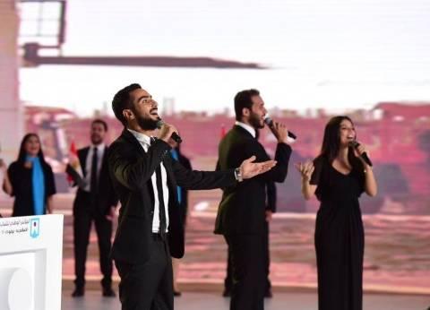 """محمد الشرنوبي.. """"حلم بمكان"""" بمنتدى الشباب وحقق حلمه بالعاصمة الإدارية"""