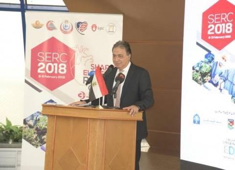 وزير الصحة: جنوب سيناء ثاني المحافظات في تطبيق قانون التأمين الصحي
