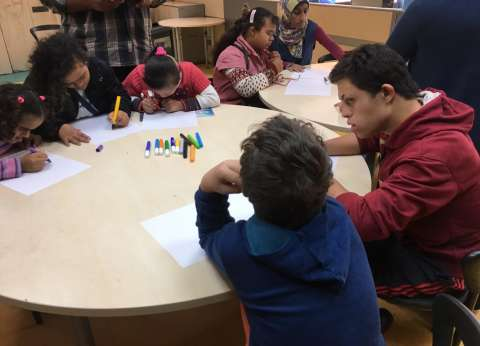 بالصور| جمعية مصر الجديدة تحتفل باليوم العالمي لمتحدي الإعاقة