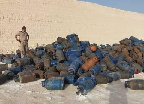 شرطة التموين: ضبط 252 أسطوانة بوتاجاز قبل بيعها بالسوق السوداء