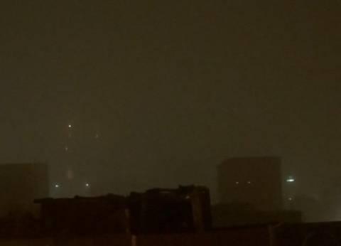 إعلان حالة الطوارئ ووقف حركة الملاحة الجوية في أسوان بسبب عاصفة ترابية