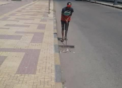 انتظام سير العمل بمنظومة النظافة خلال عيد الأضحى بمدينة دمياط