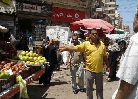 بالصور| رئيس مدينة قطور يتفقد مستوى النظافة في الغربية