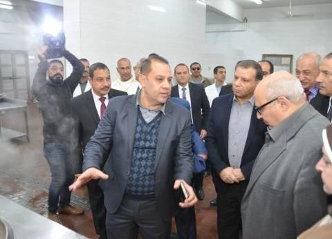 افتتاح مطعم الطالبات بكلية الزراعة جامعة عين شمس