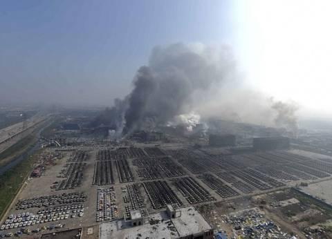 """""""جارديان"""" ترصد أقوال شهود عيان على انفجار الصين"""