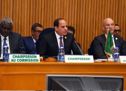 جولة في الصفحة الرسمية لرئاسة مصر للاتحاد الإفريقي: ناطقة بـ3 لغات