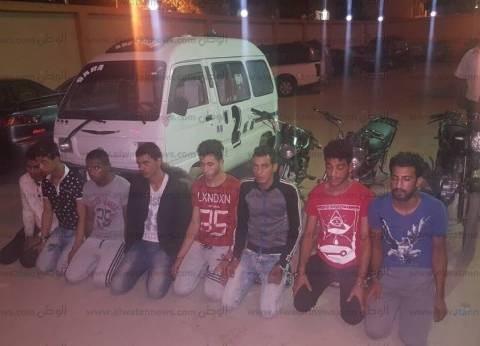الأمن العام: القبض على 10 متهمين ارتكبوا 5 وقائع سرقة