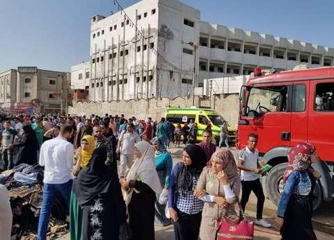 السيطرة على حريق هائل في مستشفى خاص بالمنوفية