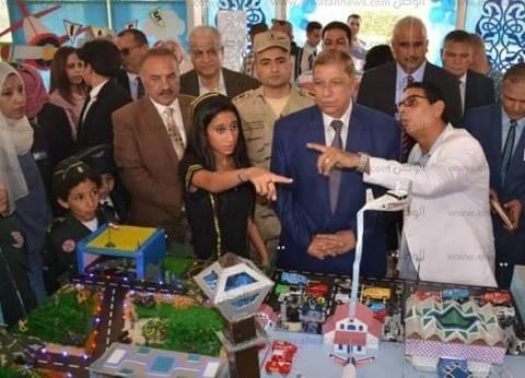 محافظ الإسماعيلية: الاهتمام بالتعليم يحقق تقدما وتنمية شاملة للبلاد