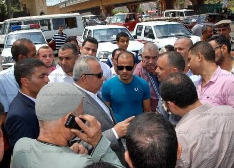 محافظ الشرقية يتفقد أعمال تجهيز منطقة مواقف أبو حماد والقرين والتل الكبير