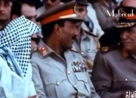 بالفيديو| بحضور السادات وعرفات.. أول عرض عسكري بعد نصر أكتوبر