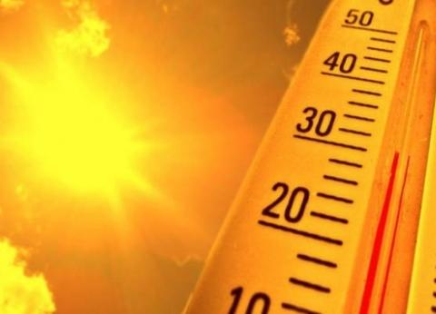 """""""الأرصاد"""": استمرار ارتفاع درجات الحرارة غدا.. والعظمى في القاهرة 40"""