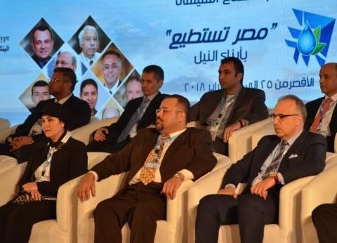 وزير الرى فى «مصر تستطيع»: خطة قومية للمياه باستثمارات 900 مليار جنيه