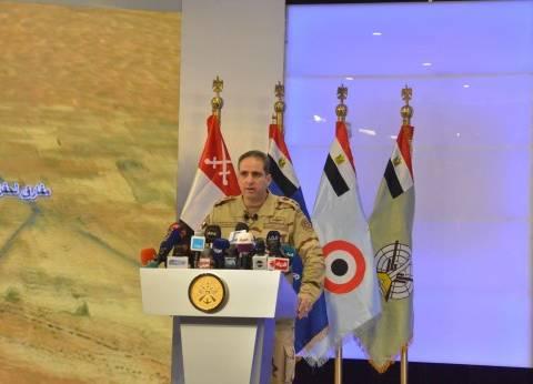 """المتحدث العسكري يعلن بدء الحجز بمعرض """"إيدكس 2018"""" للصناعات العسكرية"""