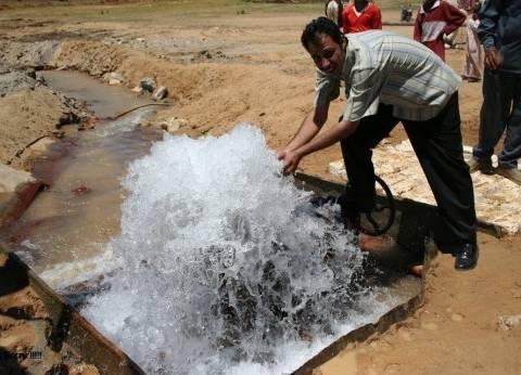 تحرير محاضر للمتسببين في انقطاع المياه بالوادي الجديد