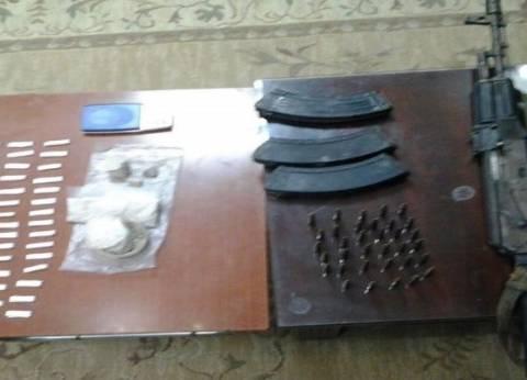 أمن كفر الشيخ يضبط 20 قضية مخدرات وأسلحة وينفذ 100 حكم قضائي