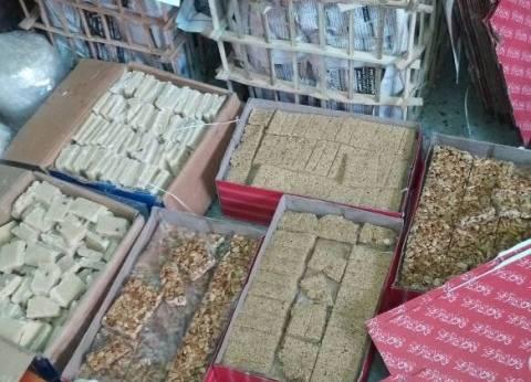 ضبط مصنع إنتاج حلوى المولد غير صالحة في الغربية