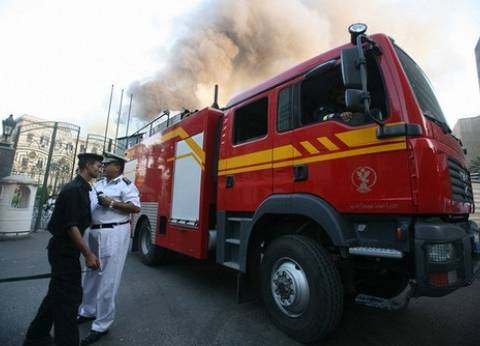 """السيطرة على حريق """"وزارة الزراعة"""""""