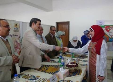 نائب رئيس جامعة المنيا يتفقد مركز التجارب والبحوث الزراعية