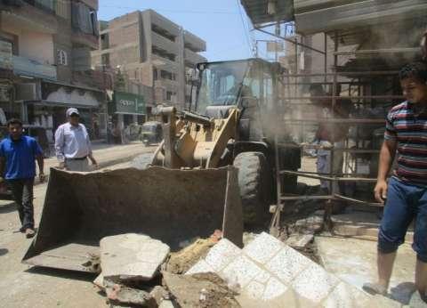 محافظ الشرقية يوجه رؤساء المراكز والمدن بمتابعة أعمال النظافة