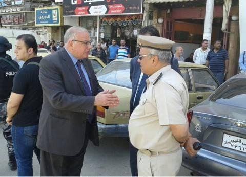 مدير أمن القليوبية يقود حملة لإعادة الانضباط بشوارع بنها