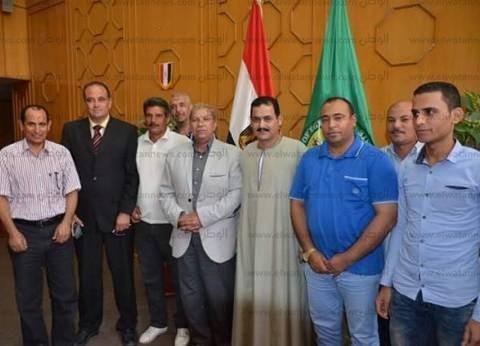محافظ الإسماعيلية يوافق على مطالب أهالي قرية البياضية