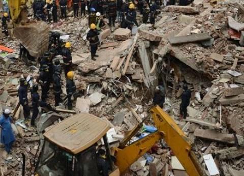 مصرع 10 أشخاص في انهيار مبنى بوسط الهند
