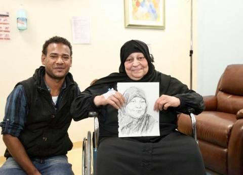 """""""ارسم ضحكة"""".. مبادرة لمستشفى شفاء الأورمان بالأقصر"""