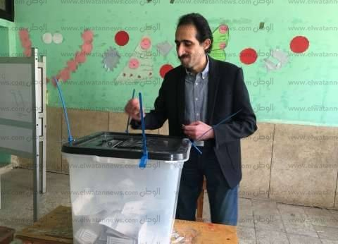 مجدي الجلاد يدلي بصوته في الانتخابات الرئاسية