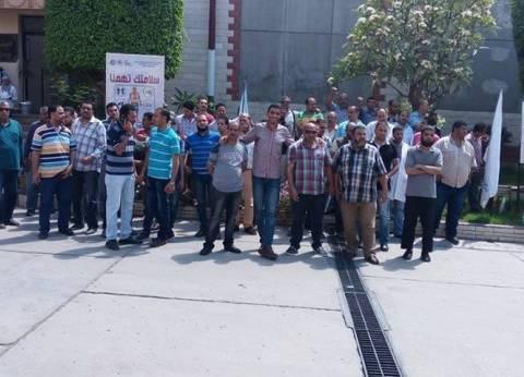 إضراب العاملين في شركة مياه الإسكندرية بسبب العلاوة