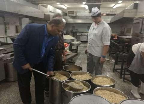 الديب: لم نرصد أي شكاوة من الطلاب بخصوص طعام المدن الجامعية
