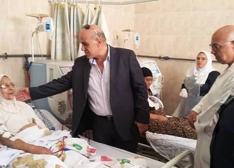 """وكيل """"صحة الإسكندرية"""" يتفقد مستشفى رأس التين خلال الاحتفال بـ30 يونيو"""