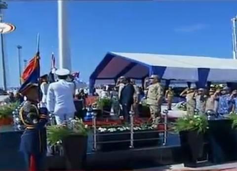 بالصور| فيلم تسجيلي عن بطولات القوات البحرية في احتفالية عيدها الـ50