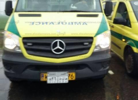 إصابة 7 مواطنين بينهم 6 عمال في انقلاب سيارة بالفيوم