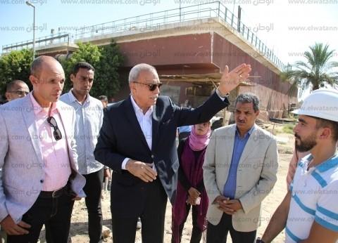 محافظ قنا يعد بحل مشكلة نقص مياه الشرب في دشنا