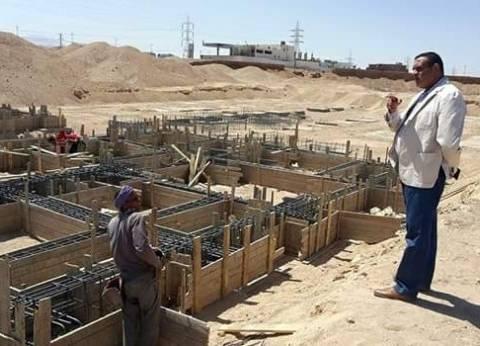رئيس مدينة سفاجا يشدد على رفع المخلفات الصلبة من داخل المدينة