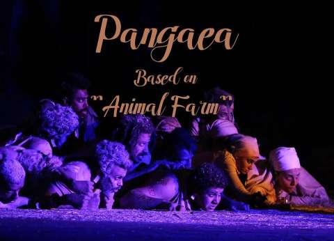 """""""بانجيا"""" رؤية جديدة لـ""""مزرعة الحيوان"""" على مسرح الفلكي"""