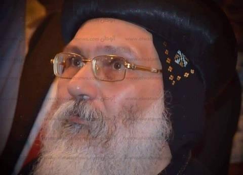 """انتهاء القداس الإلهي على جثمان الأنبا أبيفانيوس بـ""""دير أبو مقار"""""""