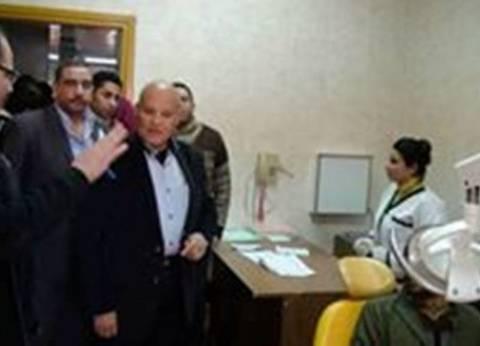 رئيس مركز سمالوط بالمنيا يتفقد مستشفى جراحات اليوم الواحد