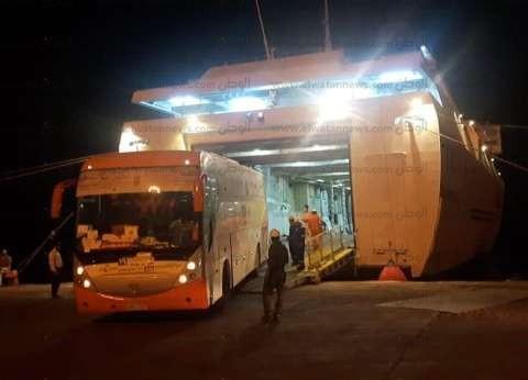 تداول 582 شاحنة بموانئ البحر الأحمر على مدار يومين
