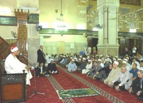 """""""أوقاف الشرقية"""" تنظم احتفالية بليلة القدر بمسجد الفتح في الزقازيق"""