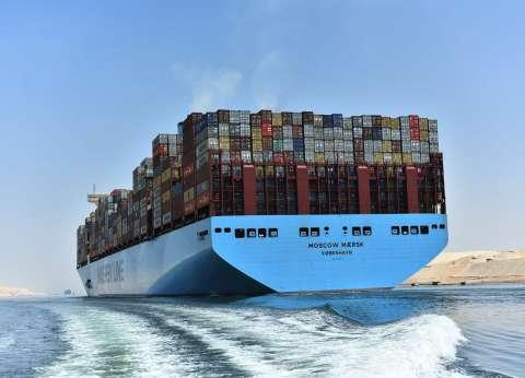 """مميش: """"قناة السويس"""" تشهد عبور 142 سفينة بحمولات قياسية 9.5 مليون طن"""