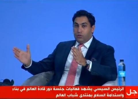 """""""رافع"""": لا يمكن إتمام جهود السلام في المنطقة دون دور مصر"""