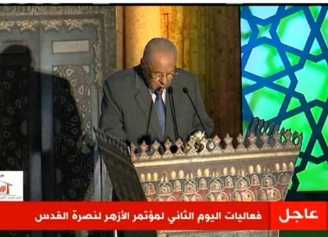 زقزوق: على المسلمين الإكثار من زيارة القدس كحج البيت الحرام