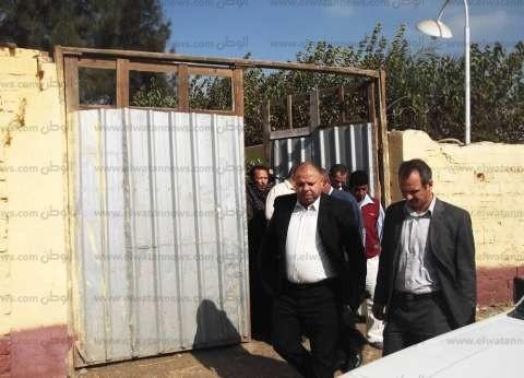 بالصور| رئيس كفر الشيخ: إزالة مقابر حديثة بُنيت على أملاك الدولة