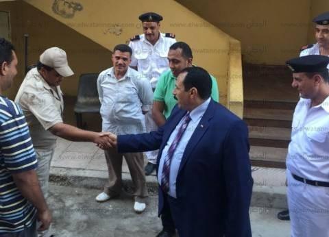 مدير أمن الإسماعيلية يتفقد مركز شرطة فايد في زيارة مفاجئة